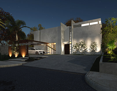 Modern House in Twinmotion