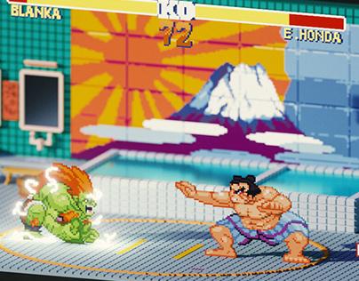Street Fighter 2 / E. Honda's Stage