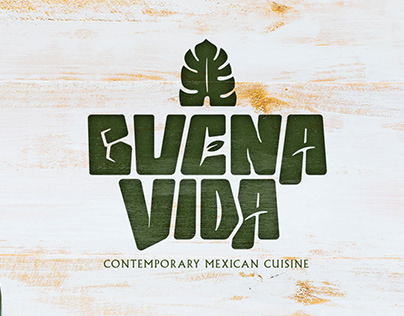 Buena Vida restaurant Logo redesign proposal