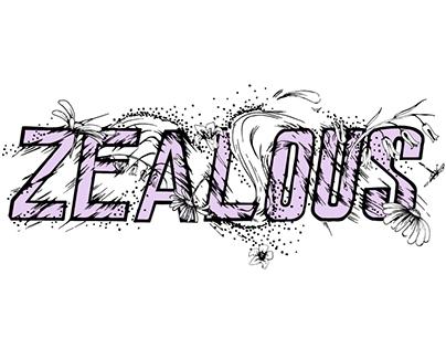 Zealous Bikes Bespoke Lettering