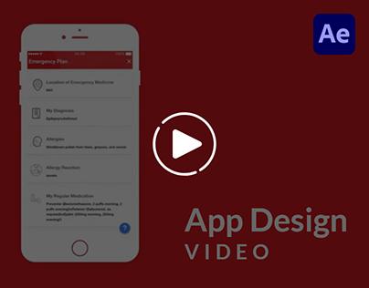 App Design Video