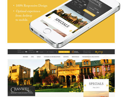 Cranwell Resort Website