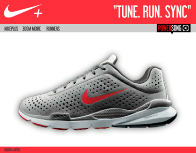 Microsite: Nike (Flash)