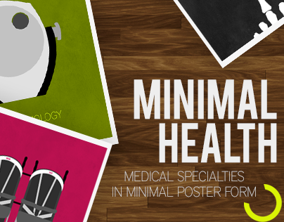 Minimal Health: Specialty Posters
