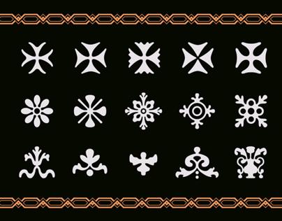 tipograf a colonial garrig s ornamental on behance. Black Bedroom Furniture Sets. Home Design Ideas