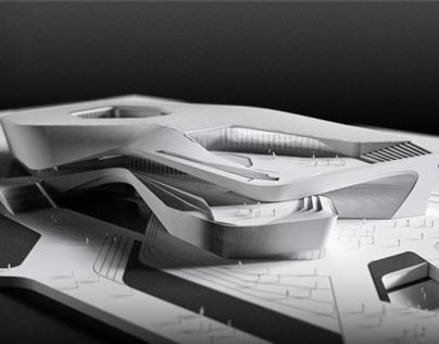 Zhuhai Culture Center Competition Design Concept