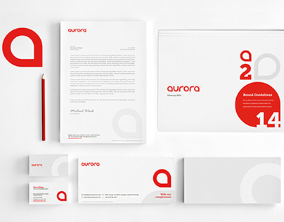 Aurora Branding re-positioning
