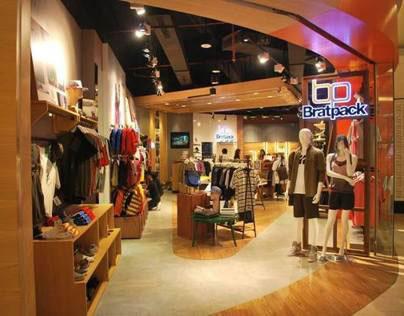 Bratpack Indonesia Retail Store Design