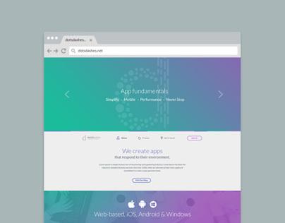 Web Design - Dots&Dashes!