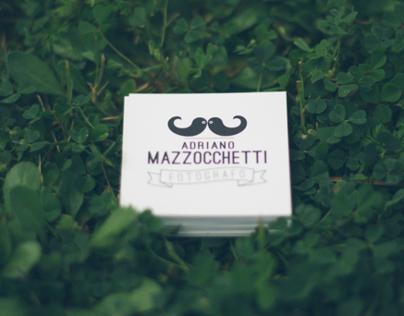 New Business Cards // Adriano Mazzocchetti Fotografo