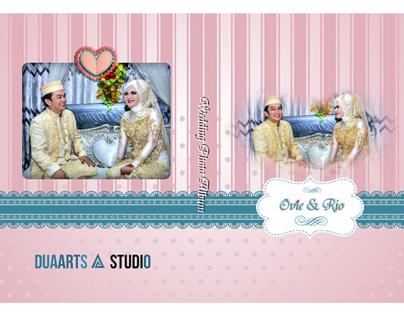 Wedding Photo Album Ovie & Rio
