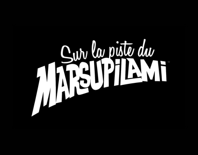 Sur la piste du Marsupilami - Concept Art