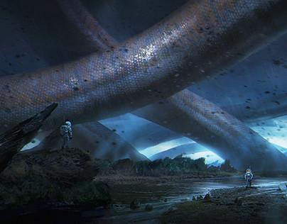 Personal: Alien landscape
