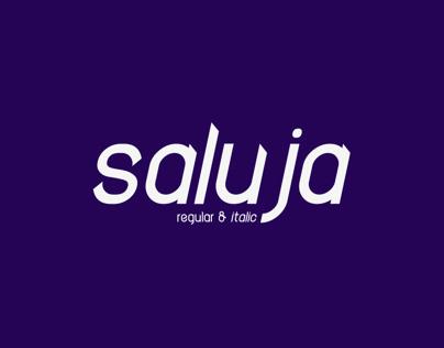 Saluja Typeface