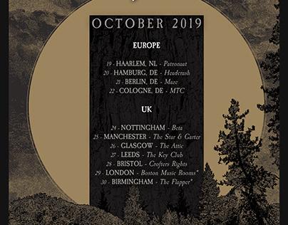 Conjurer Tour poster