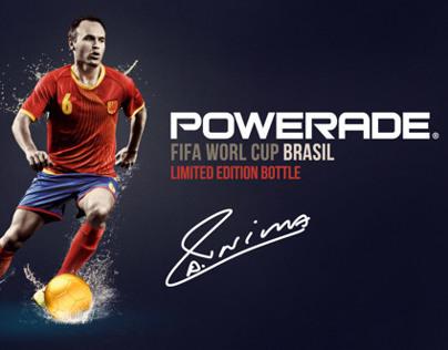 POWERADE  Limited Edition LABEL Brasil 2014