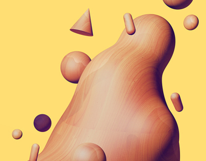 Wooden Metaballs