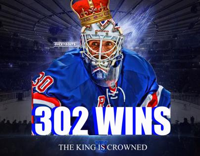 Henrik Lundqvist 'The King is Crowned design!
