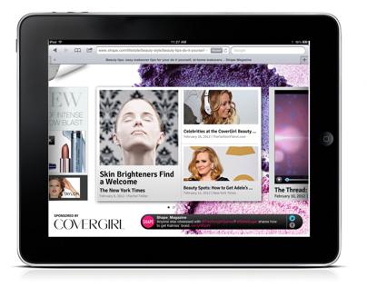 Kontera Tablet Media Product Design
