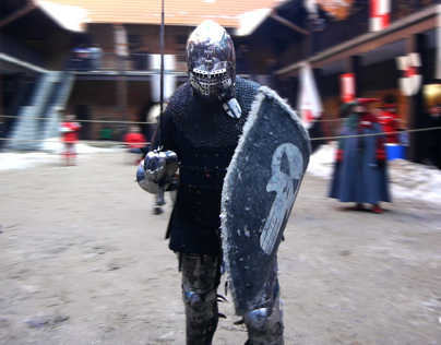 Knights' tournament in Nidzica