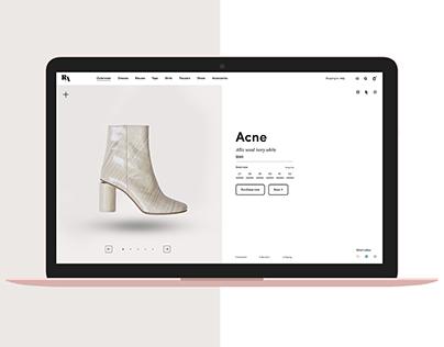 Reggio Alana Luxury E-Store Web & App Design