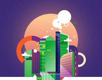 GREEN ENERGY - infographics & visuals