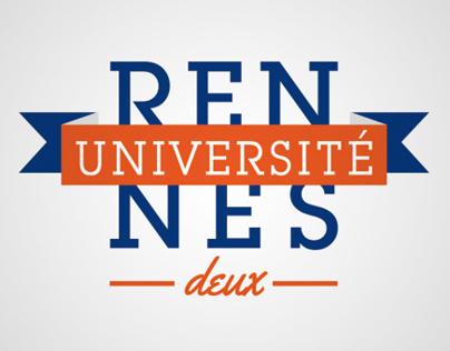 Logo Université Rennes II