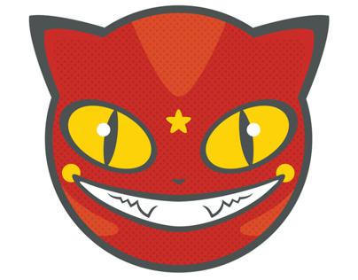 Go-Go Gato Illustration and Screen Print