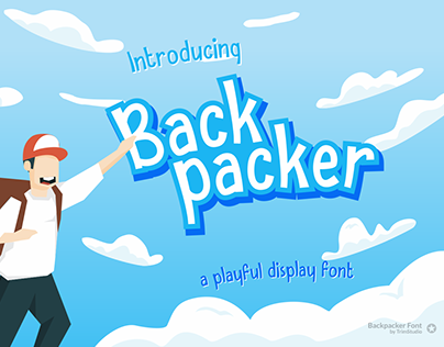 FREE Font | Backpacker - Fun Display Font
