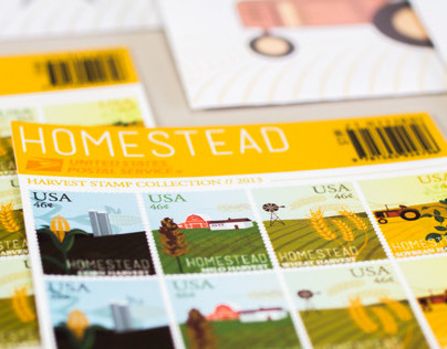 Homestead Stamp Collection