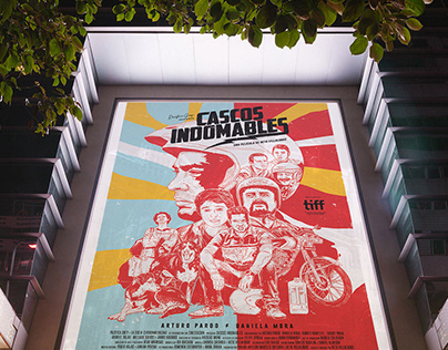 Movie Poster | Helmet Heads (Cascos Indomables) 2018