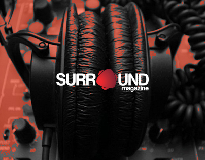 Surround Magazine (Cover & Layouts)