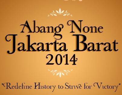 Pemilihan Abang None Jakarta Barat 2014