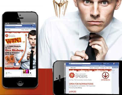 Eircom Spider Awards 2012 Social Media campaign