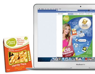 Green Farm Foods Social Media/Experiential campaign