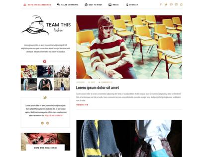Blog Design for EJ Johnson's