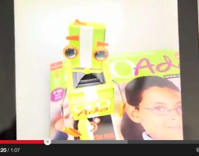 Géo Ado, réalité augmentée : démo vidéo
