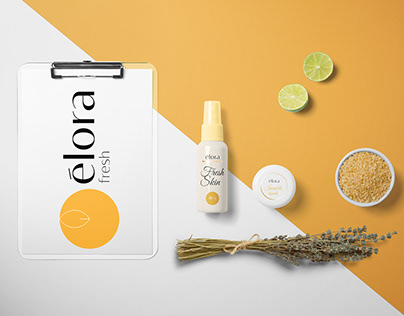 Identity and Labels design for a cosmetics company