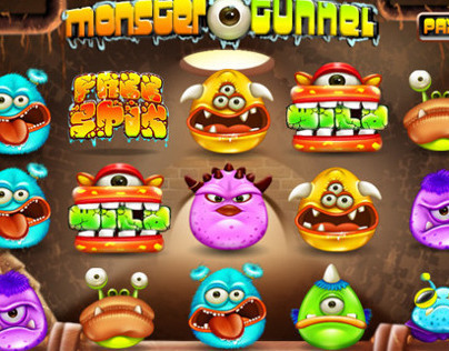 Slot game : Monster Tunnel