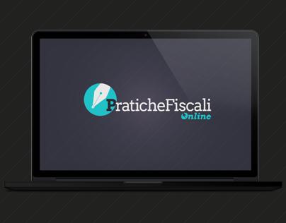 Pratichefiscalionline.com, Web, Graphic, Logo Design