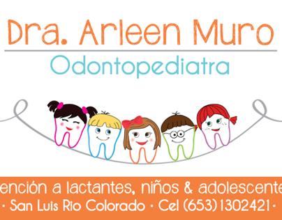 Business Card for Pediatric Dentist