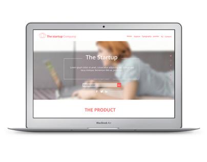 Startup Company Joomla template
