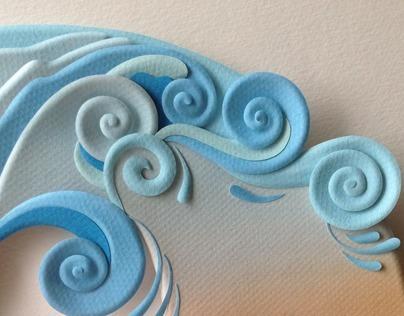 Originalle - paper sculpture