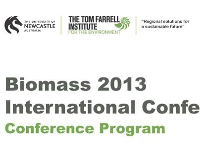 Biomass 2013 International Conference Program Developme