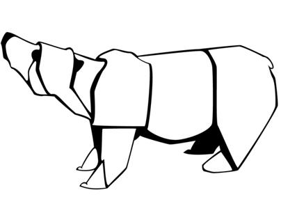 Paper Bear Icon