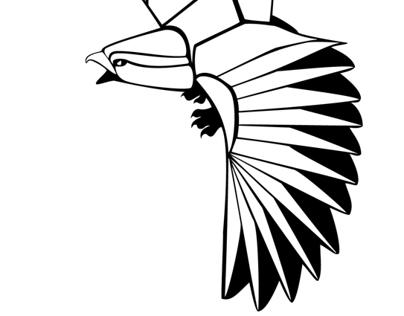 Paper Hawk Icon