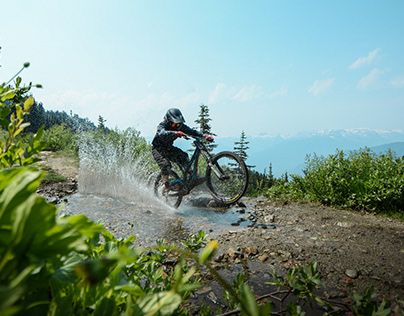 Mountain Biking - Pemberton, British Columbia