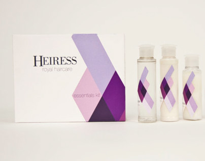Heiress Royal Haircare // Packaging