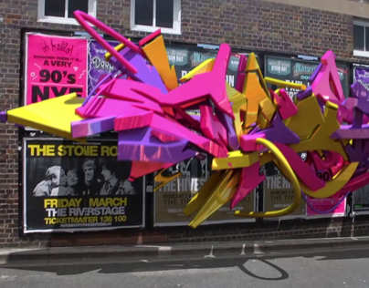Graffiti Technica Reel 2014