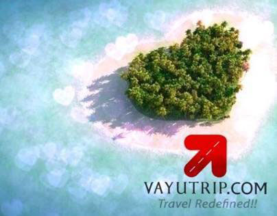 Marketing collaterals for Vayutrip